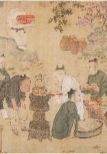 明代佚名画作《耆英胜会图》首次展出