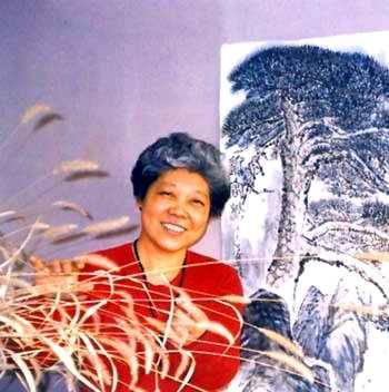 国画家吴丽珠作品欣赏图片