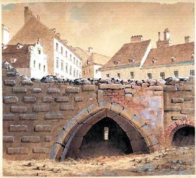 希特勒的绘画风格受19世纪后期奥地利大师鲁道夫·冯阿尔特的影响很深