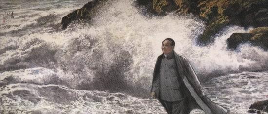 王西京写意人物画欣赏 - 若水 - 书画学习与交流
