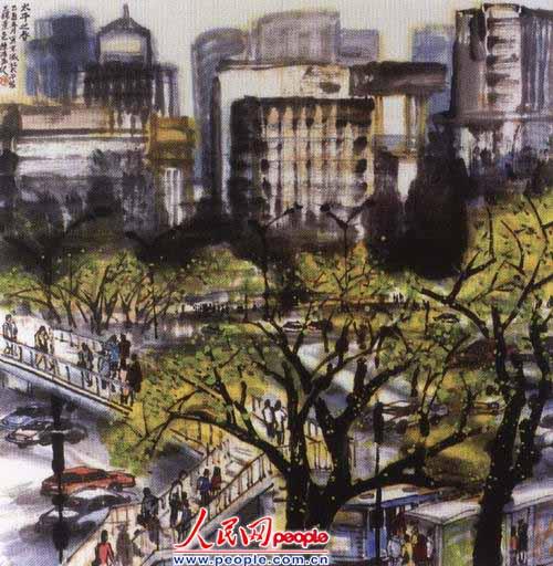 [图片]城市绘画图片_我的梦想城市绘画图片