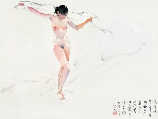 人体艺术系列之二--书画--人民网