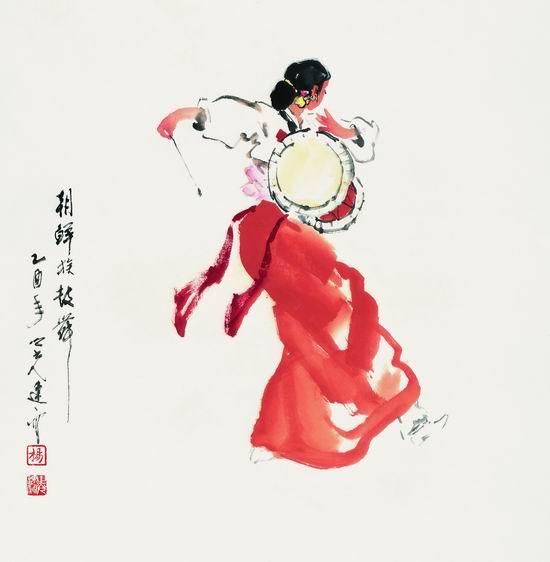 朝鲜族鼓舞 2005年-舞蹈艺术系列之二
