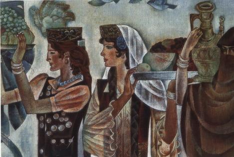 欧式著名壁画图片