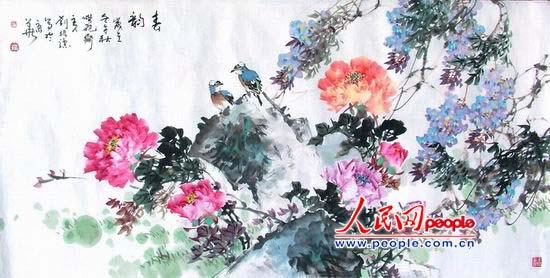 刘振骠中国花鸟画欣赏