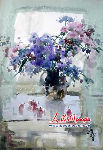著名水彩画家蒋跃新作欣赏