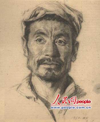 靳尚谊油画作品欣赏