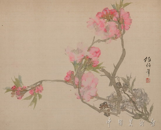 lidongliang1963.h 的 任伯年作品欣赏 - 髯书之歌 - 髯書之歌 de 書畫沙龍