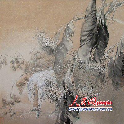 不懈的诗境追求:陈敬友的中国画