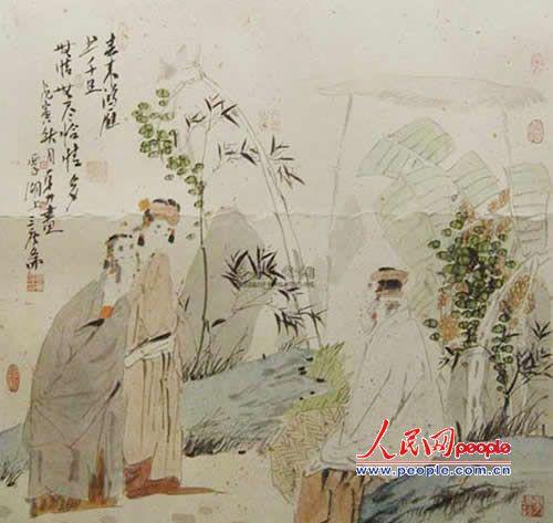 作品欣赏()唐勇力工笔人物画 - 笑然 - xiaoran321456 的博客