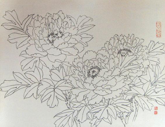 简笔画 手绘 线稿 565