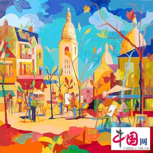 第二届法国当代绘画展将于4月在京举办 (7)