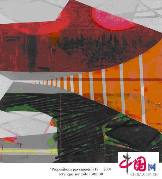 第二届法国当代绘画展将于4月在京举办 (4)