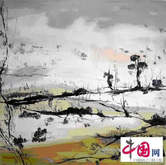 叶星千 YE Xing Qian 农业150x150cm 油画