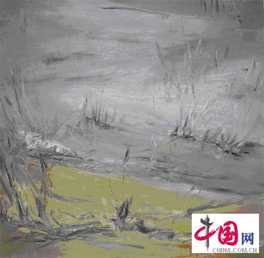 叶星千 YE Xing Qian  工业 油画 150x150cm