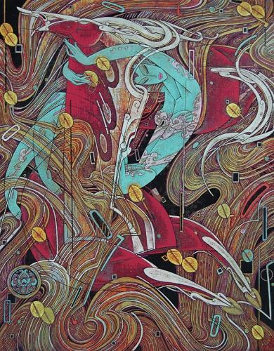 《云南现代版画,重彩画名家作品展》将亮相上图