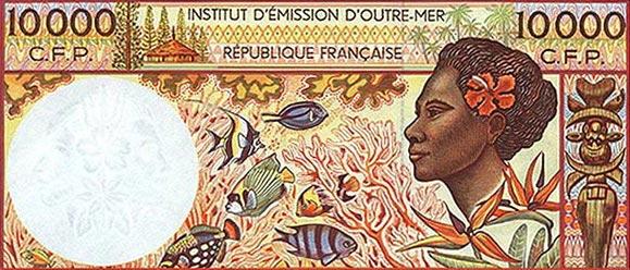1.法属太平洋领土(法郎)