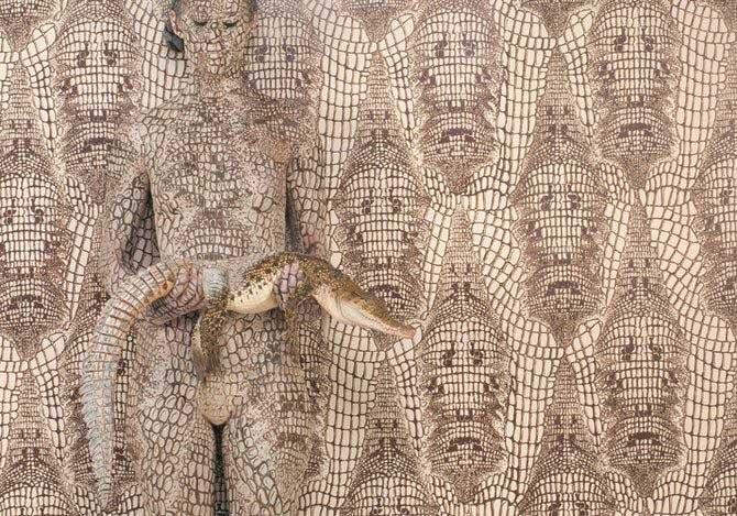 惊艳绝伦的人体彩绘艺术 (14)