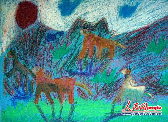 中国儿童画亮相世界舞台
