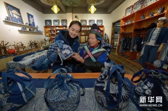 传承传统手艺 带动群众增收